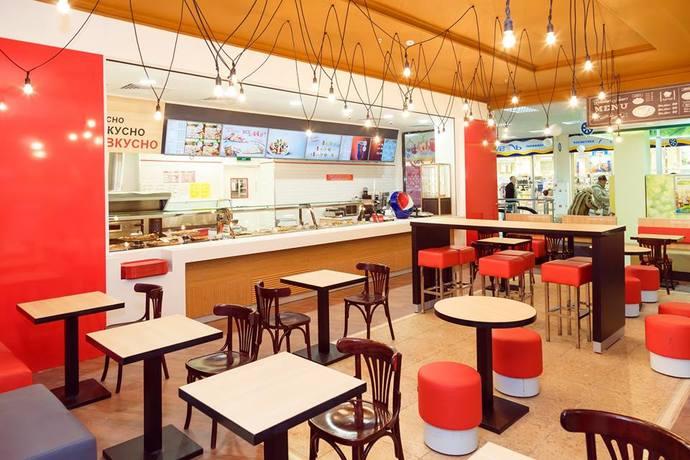 Ташир пицца в ТРЦ Мега