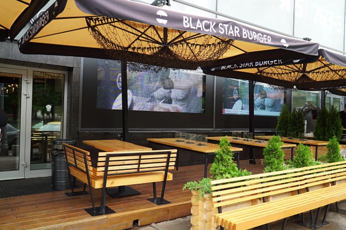 Black Star Burger на Цветном
